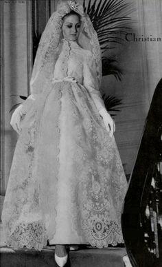 Wedding dress by Christian Dior, 1964
