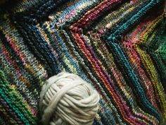 melted crayon shawl | Flickr - Photo Sharing!