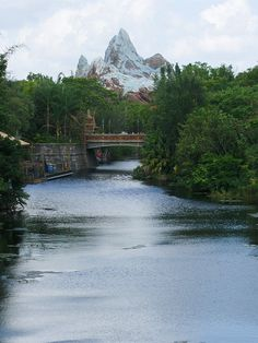 Mount Everest    At Disney's Animal Kingdom.