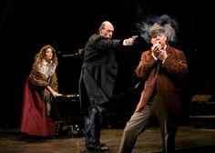 Sherlock, Irene Adler, Moriarty: Sherlock Holmes: The Final Adventure.
