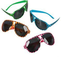 Zebra Print Fashion Sunglasses Case Pack 300