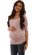 Lots of cute maternity clothes