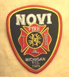1000 in Collectibles, Historical Memorabilia, Firefighting & Rescue Cool Patches, Fire Fighters, Firemen, Fire Dept, Crests, Badges, Ems, Michigan, Firefighting