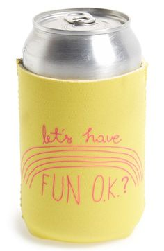 BAN.DO 'Too Cold to Hold - Have Fun' Drink Sleeve available at #Nordstrom