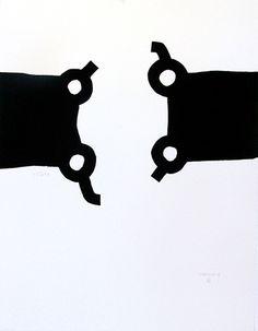 Eduardo Chillida. Olimpiada Seúl, 1998. Serigrafía y gofrado. Disfruta de esta obra en Arteinversión Galería.