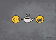 #Café * #Coffee AC :-( & DC :-D= Antes e Depois do #Café
