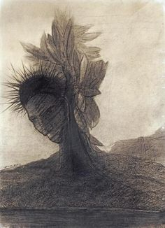 Odilon Redon - The Male Tree - art prints and posters
