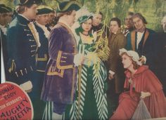 Original, color Lobby Card for Naughty Marietta with Nelson Eddy, Jeanette MacDonald, Frank Morgan and Elsa Lanchester - ESCANO COLLECTION