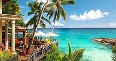 Pretend you're stars in your very own James Bond movie with a honeymoon in Mahé, a favorite locale for many of the classic movies. Toss on a bikini, sip a tropical drink, and do a bit of snorkeling. Bring on the sexy.
