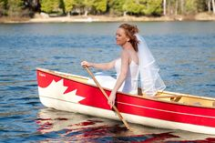 Canadian's and canoes, a love story.