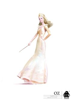 """From """"Oz the Great and Powerful"""" (2013) worn by Michelle Williams as Glinda design by Gary Jones and Michael Kutsche"""