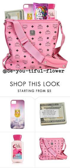 """""""~Premade~"""" by be-you-tiful-flower ❤ liked on Polyvore featuring moda e MCM"""