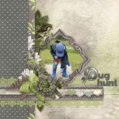 Layout by Sherry #scrapbooklayouts