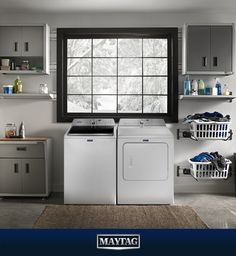 When the weather outside turns frightful, Maytag remains dependable.