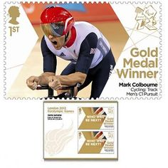 Large image of the ParalympicsGB Gold Medal Winner Miniature Sheet - Mark Colbourne