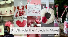 31 DIY valentine's day projects to make