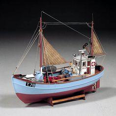 Barcos de facturación Norden en la Tienda de Hobby de la Costa de la Naturaleza
