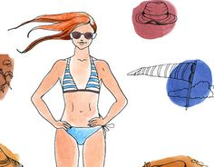 """Check out new work on my @Behance portfolio: """"Two girls and beach elements"""" http://on.be.net/1EO3CNe"""