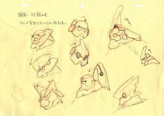 BIG HERO 6 Concept Designs by Shigeto Koyama (コヤマ シゲト): Baymax (SOURCE)