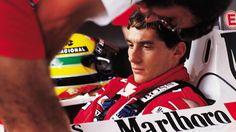 Ayrton Senna durante GP Brasil de 1989 em Jacarepaguá
