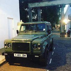 Faboulous green Keswick  #Landrover #Defender
