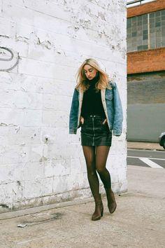Ana Prodanovich | Outfit Replay ft. My Levi's Sherpa Jacket