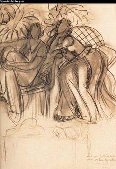 Henri Matisse, unknown on ArtStack #henri-matisse #art