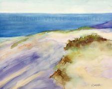 Impressionist Original Seascape Landscape Large Painting Ocean Beach Lake Water