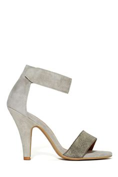 Jeffrey Campbell Hough Heel - Pewter