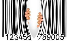 Photo about Big bar code torn apart in the middle by two hands - Consumerism concept. Image of debt, apart, open - 21043358 Resisting Temptation, Bar Jokes, Bar Image, Code Art, Marca Personal, Illustrator Tutorials, Design Tutorials, Graphic Illustration, Photo Editing