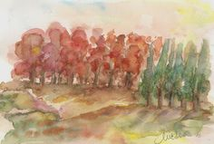 Watercolor by Macridea