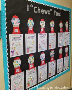 ADVERTISEMENT ADVERTISEMENT Super cute valentine's bulletin board! day bulletin board school Valentine's Day Ideas and More! day party preschool day decorations for classroom activities Writing Bulletin Boards, February Bulletin Boards, Valentines Day Bulletin Board, Bullentin Boards, Valentines Day Funny, Classroom Bulletin Boards, Valentines Day Activities, Valentines Day Decorations, Valentine Day Crafts
