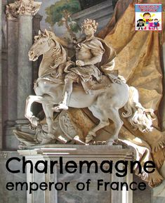 Ancient History - Charlemagne history lesson for elementary kids Middle Ages History, History For Kids, Women In History, Ancient History, World History Teaching, World History Lessons, History Education, History Activities, History Classroom