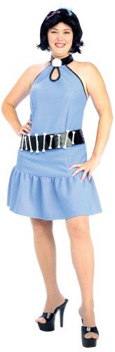 Fashion Bug Plus Size: Plus Size Costumes: The Flintstones, Betty Rubble Costume And Wig