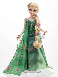 Disney Frozen Fever Elsa Anna Doll Limited Edition of 5000 Frozen Disney, Elsa Frozen, Frozen Film, Anna Disney, Disney Art, Disney Barbie Dolls, Disney Princess Dolls, Disney Princesses, Anna Y Elsa