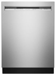 Fuel your culinary passion with the revolutionary KitchenAid Stainless Steel with PrintShield™ Finish 46 DBA Dishwasher with ProWash™ Cycle and PrintShield™ Finish, Front Control, product number Kitchenaid, Double Drawer Dishwasher, Fisher Paykel Dishwasher, Smudging, Kitchen Remodel, It Is Finished, Stainless Steel, Dishwashers, Program Management