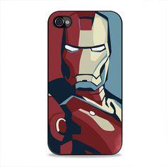 Ironman Pattern iPhone 4, 4s Case