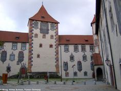 Hohes Schloss (late gothic), Fussen Germany
