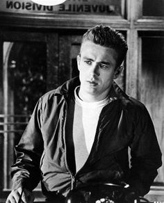"""James Dean in """"Rebel Without a Cause. I frickin love this movie"""