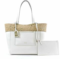 Women's Shoulder Bags - LAUREN Ralph Lauren Womens Paley Cork Lauryn Tote Vanilla none none -- Check out the image by visiting the link. Ralph Lauren, Handbags, Detail, Cork, Shoulder Bags, Vanilla, Image Link, Handle, Amazon