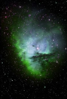 #NGC281 (also known as #PacmanNebula or #IC11) is a nebula in the constellation #Cassiopeia (constellation). It was discovered on August 1883 by the astronomer Edward Emerson Barnard.
