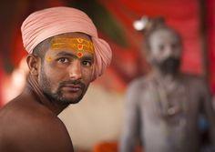 Naga Sadhu, Maha Kumbh Mela, Allahabad, India by Eric Lafforgue, via Flickr
