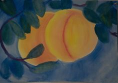 5th Grade: Painting; Geography; Georgia Peaches