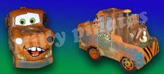 Piñata Mate Cars, millypinatas