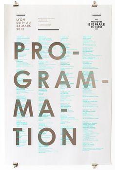 Les Graphiquants // Biennale musique en scène 2012.
