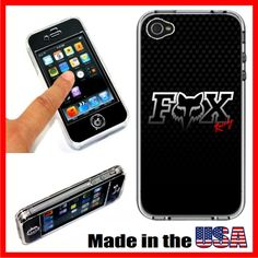Fox Racing iPhone 4 4S Full Plastic Case by casecreate on Etsy, $15.00