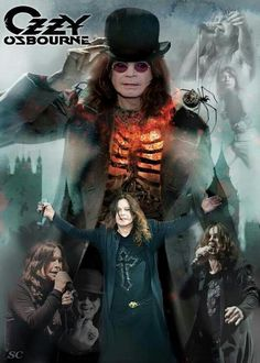 Ozzy Osbourne...........