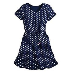 Minnie Mouse Bow Knit Dress for Women by Disney Boutique | Disney Store Minnie's casual knit dress is filled with heart appeal and rows of bows. A drawstring waist and side pockets keep the comfort coming all day long.