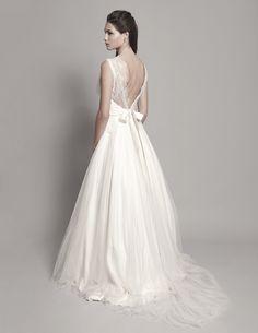 Robe de mariée style princesse dos nu - Christophe Alexandre Docquin 2013 - modèle Manon - La Fiancée du Panda Blog Mariage & Lifestyle