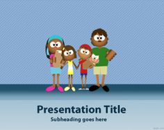 Family Four PowerPoint template is a free Power Point presentation template with family four design that can be used for family four PowerPoint presentations